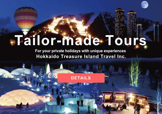Tailor-made Tours by Hokkaido Treasure Island Travel Inc.