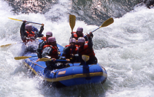 Available for 1 Month Only! Whitewater Rafting in Sapporo's Toyohira